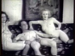 1930, Blonde, Blowjob, Brunette, Classic, Group