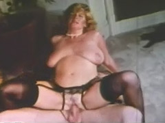 Busty Blonde Fucks Husband's Brother 1970 porn video