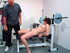 This Hardcore Video Takes Place in a Gym Between Hairy Amateur and Her Coach porn video