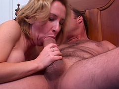 British Babe MILF's Massive Unshaven Vagina is Being Carefully Fucked by a Cunt Hungry Boy porn video
