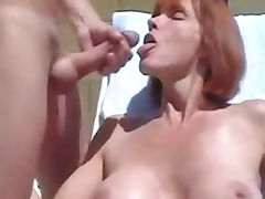 boy cum facial sperm oh mama