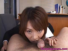 Super hot asian babes sucking and fucking