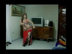 Sexy Arab Dances For The Webcam Amateur sexy Arab dances in full costume for the webcam on top of he