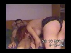 Hidden camera catches couple having sex
