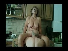 Stepmom, Cougar, Kitchen, Masturbation, MILF, Mom