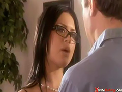MILF Eva Angelina and handyman