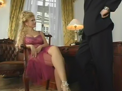 big tit blonde milf is obsessed with fucking younger guys