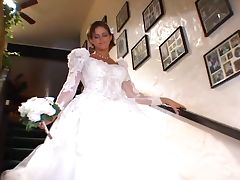 Bride, Beauty, Blonde, Bride, Cute, Masturbation