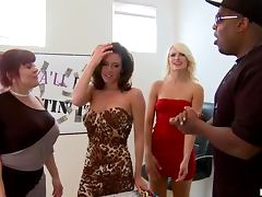 Horny Blonde Milf Anikka Albright Gets Rammed By A Black Cock