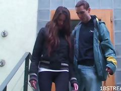 Hot Blowjob and Hardcore Sex With Bozena and Andrej