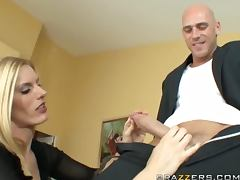 Groom Bangs The Hot Blonde Wedding Planner with His Big Dick