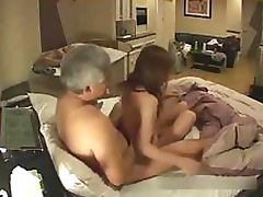 Hidden Cam Catches a Slutty Asian Teen Getting Fucked