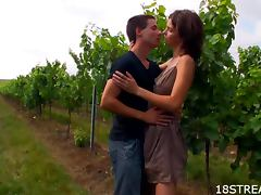 Grape Field Sex With The Slutty Teen Irenka