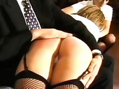 Asses spanked and caned in fetish