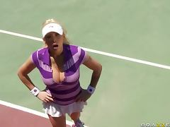 Playing Tennis is Overrated When You Can Have Hardcore Sex Outdoors