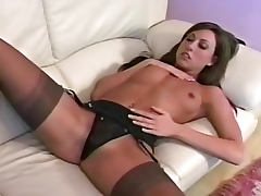 Lingerie, Brunette, Dress, Fetish, Lingerie, Masturbation