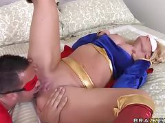 Superman Fucking Blindfolded Wonder Woman