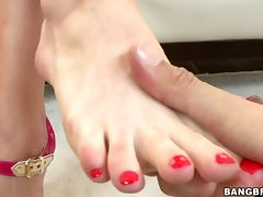 I Give A Mean Footjob