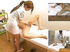 Picture in Picture Shots Of a Hot Lesbian Asian Massage