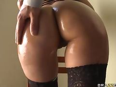 Big Cock Drilling Shy Love's Perfect Ass in Anal Sex