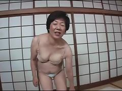 Japanese mature takes toys porn video