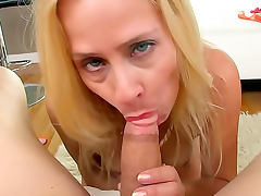 All, Blonde, Blowjob, Cougar, Cumshot, Handjob