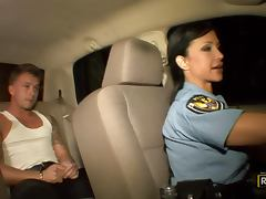 Officer Jewels Gets A Hardcore Fuck From A Really Horny Prisoner porn video