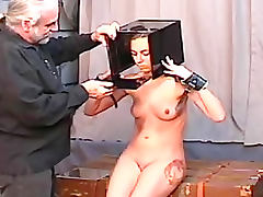 She is his BDSM plaything in