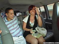 Money, Ass, Babe, Blowjob, Car, Cowgirl
