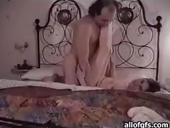 Girl Hottie Fucks And Old Man In Voyeur Clip