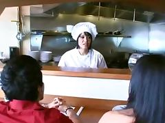 Smoking Hot Chef Cooks Up A Hard Fuck With Her Assistant