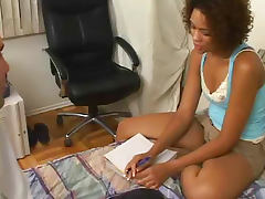 Black girl fucked by her teacher