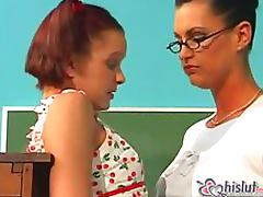 Teacher Fucks Her Student's Asshole With A Strapon