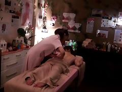 Voyeurcam in Massage Parlor