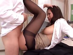 JAV, Big Tits, College, Couple, Nylon, Oriental