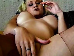 Bus, Blonde, Boobs, Bus, Fetish, Masturbation