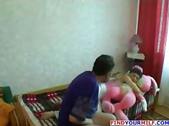 Amateur Russian home orgy
