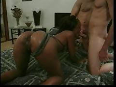 Sinnamon Love Interracial DP