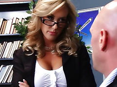 Teacher Brandi Love fuck and titjob fun porn video