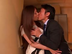 Sexy Japanese Teacher Yuna Shiina Having Sex in School