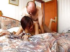 Old Man Cums Inside Annas Tight Czech Pussy porn video