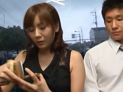 Yuma Asami Enjoys Some Hardcore Banging in a Public Bus
