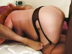 Fat slut threesome satisfaction fucking