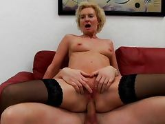 Mom, Cougar, Cumshot, Ethnic, Group, MILF