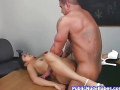 Busty Filipina Classroom Anal Sex