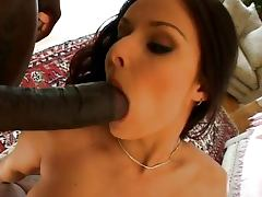 Daniella Rush Black threesome