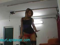 Lingerie, Ass, Blonde, Dance, European, Lingerie