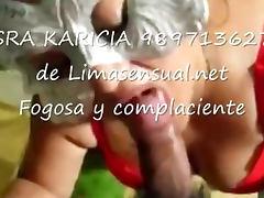 Sra Karicia super servicio completo de Limasensual net