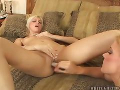 Gorgeous babes Christine Alexis and Heidi Mayne going lesbian