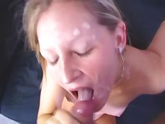 Skinny Liz Honey shows her passion for oral sex